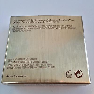 Kevyn Aucoin Sculpting Powder packaging back