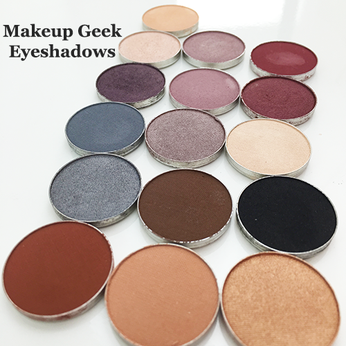 Makeup Geek Eyeshadows Cover