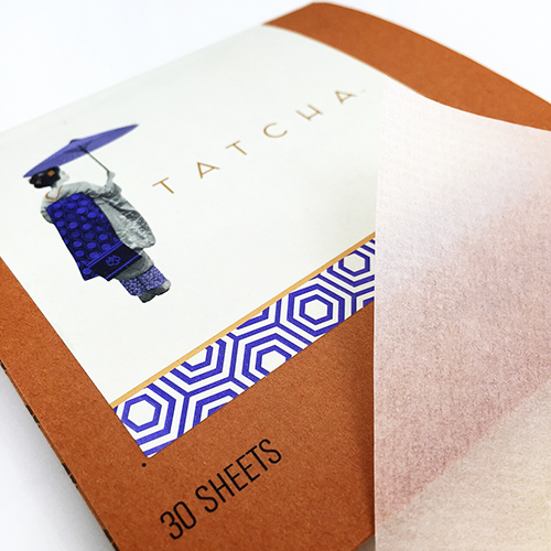 Tatcha Oil Blotting Papers Cover