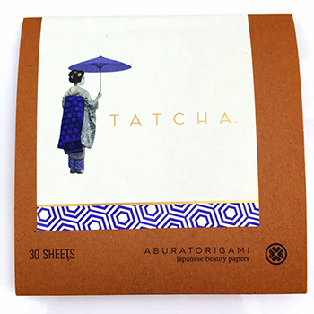Tatcha Oil Blotting Papers Front