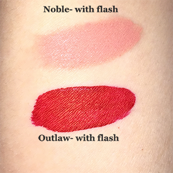 Kat Von D Lip Vixen Duo Swatches Flash