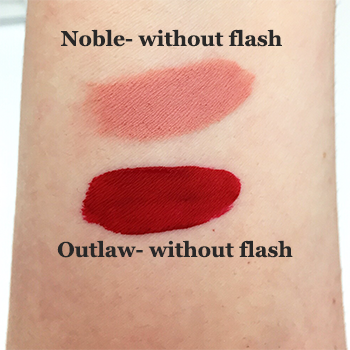 Kat Von D Lip Vixen Duo Swatches