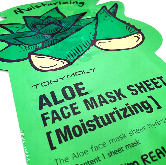 Tony Moly Aloe Mask